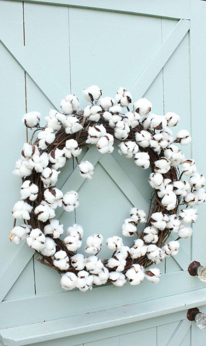 26 all seasons raw cotton door ornament