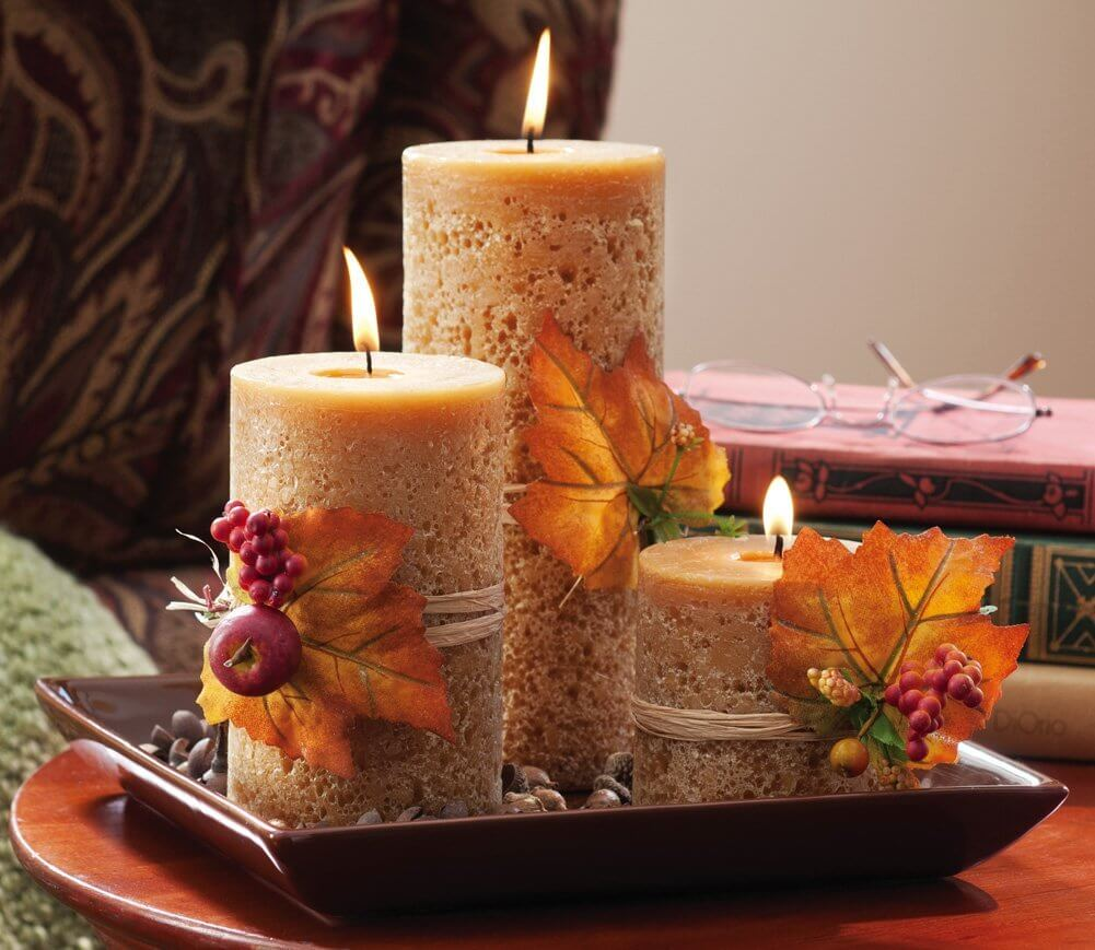 26 Bringing The Harvest Feel To Your Centerpiece