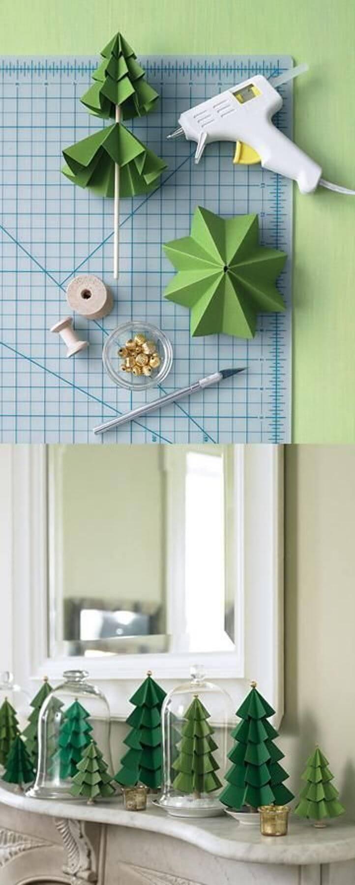 32 kreative DIY Weihnachtsbaum Ideen für eine einzigartige Ferienzeit