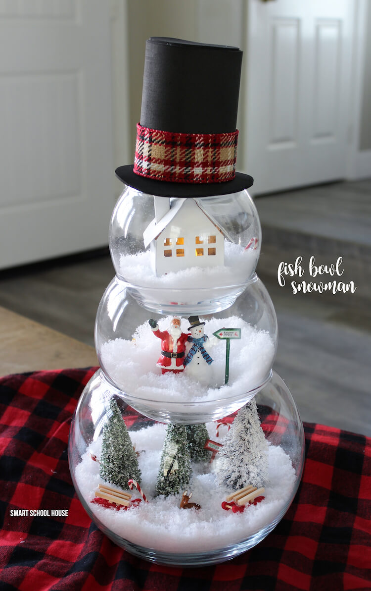 Make Your Own Snow Globe Dioramas