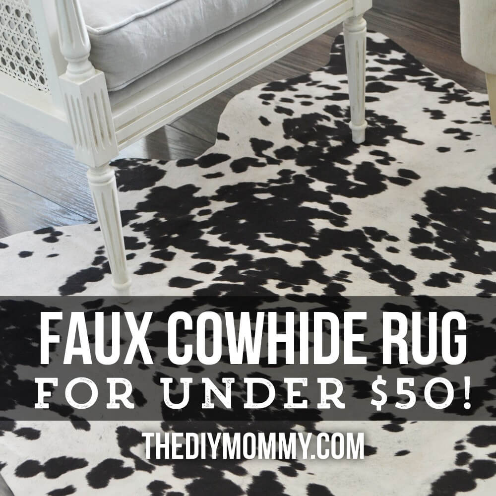 Get the Cowhide Look for Less