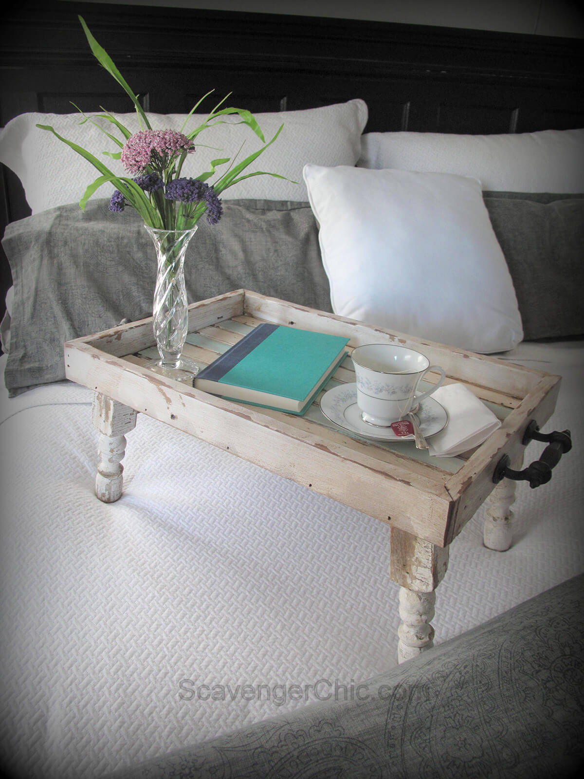 Breakfast in Bed Serving Tray