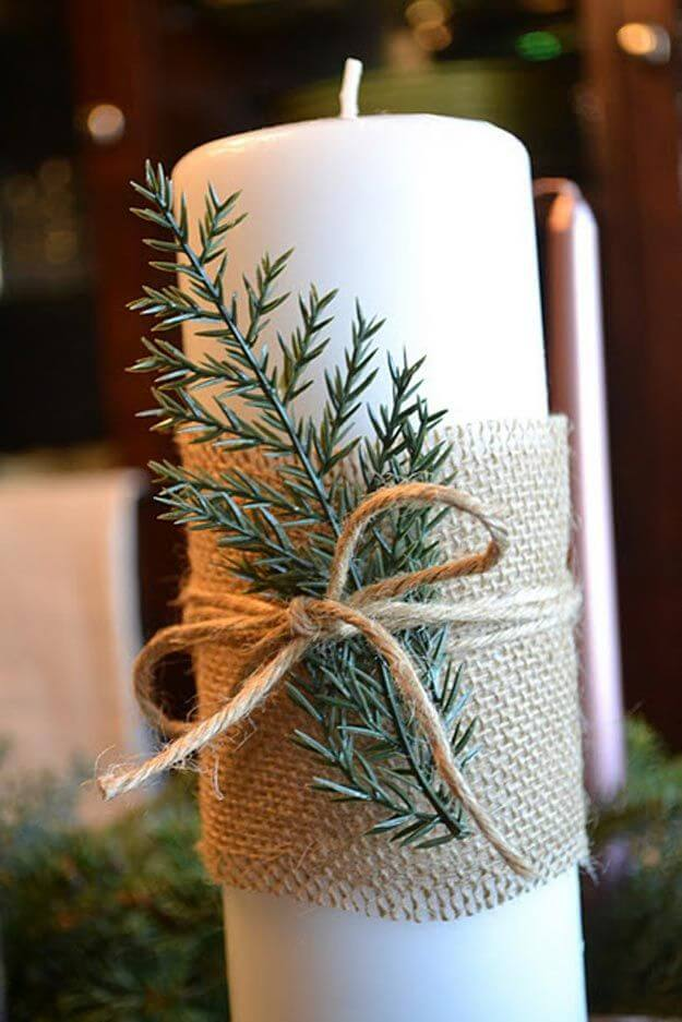 Use Natural Materials to Decorate