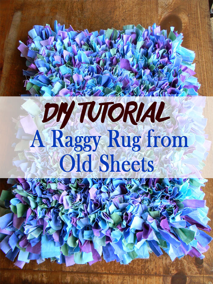 Rag Tag Bed Sheet Recycling Idea
