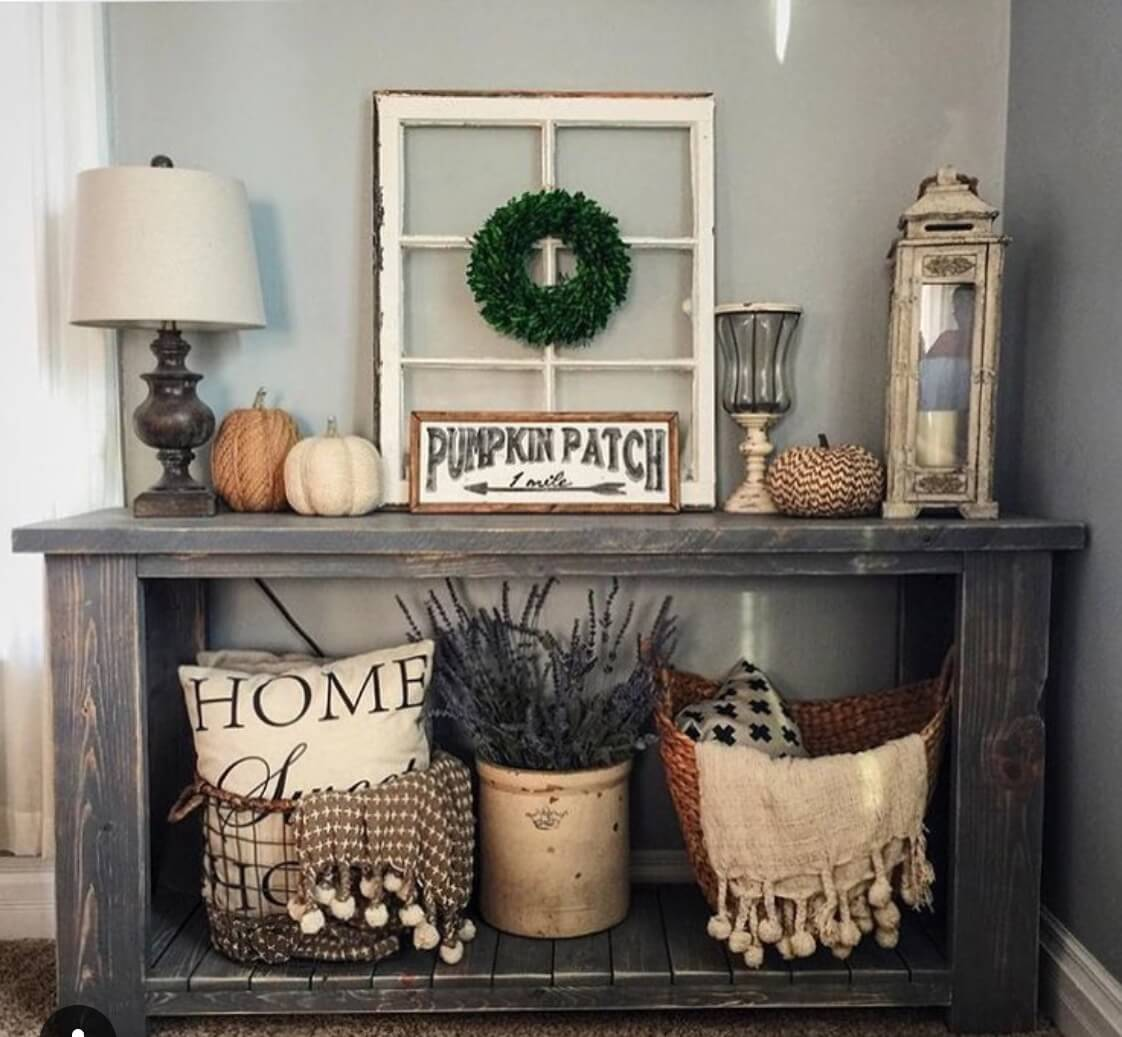 35 best rustic home decor ideas and designs for 2018 for Home decorating rustic ideas