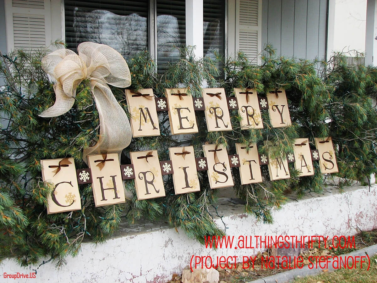 Best Christmas Diy Outdoor Decor Ideas And Designs For