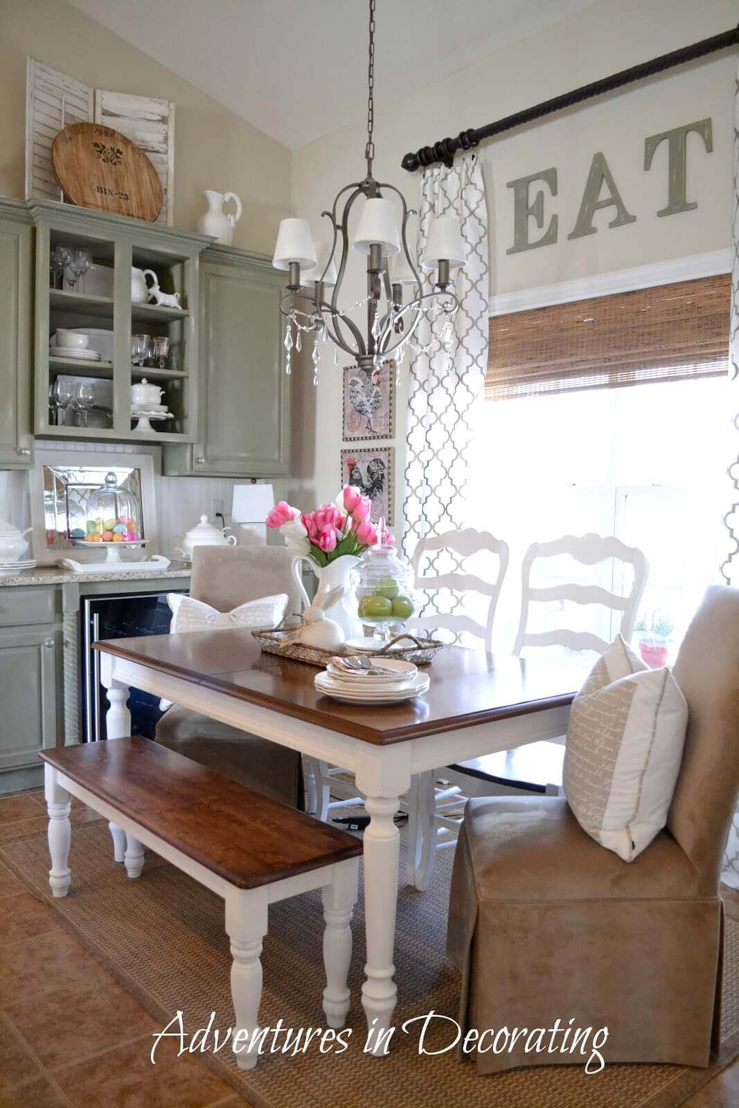 Farmhouse Furniture And Decor Ideas For Dinettes