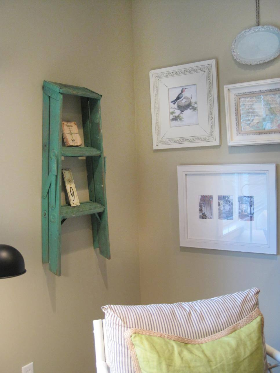 Easy Step Stool Wall Art