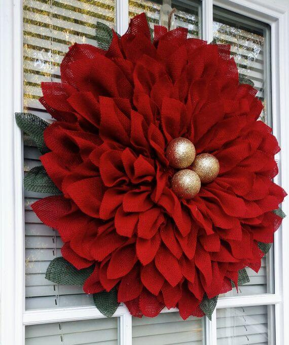Super Lush Multi-Layered Giant Poinsettia