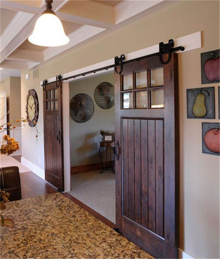 The Farmhouse Version of French Doors
