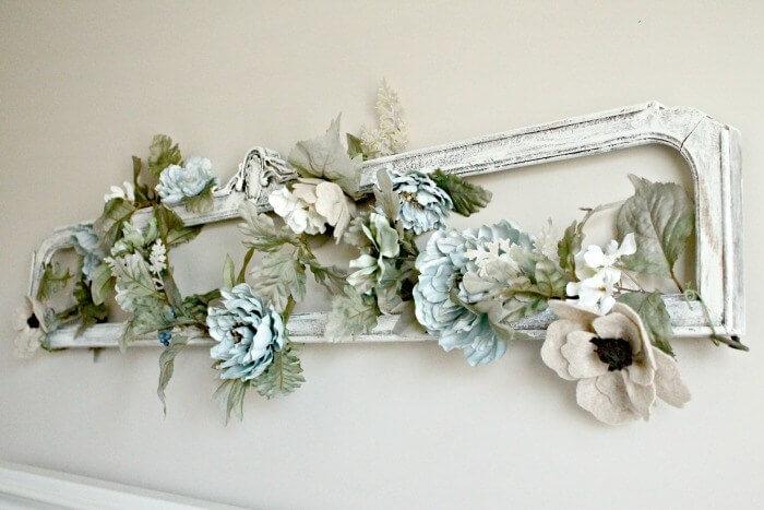 Pretty Paper Peony Frame Arrangement