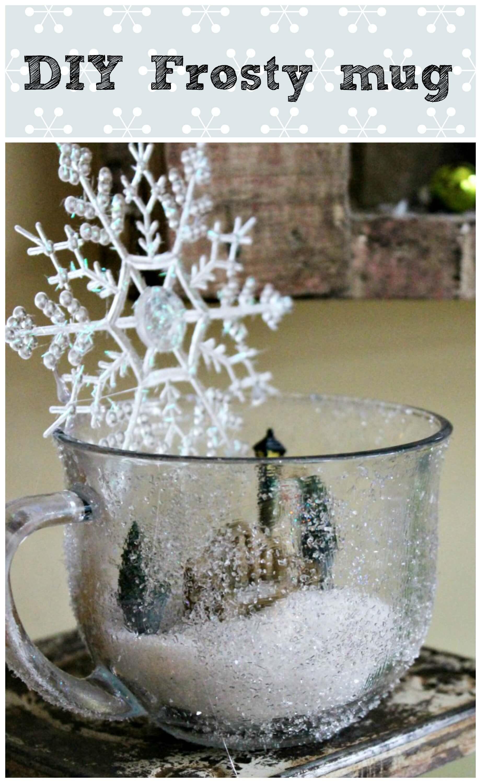 A Snowglobe in a Mug