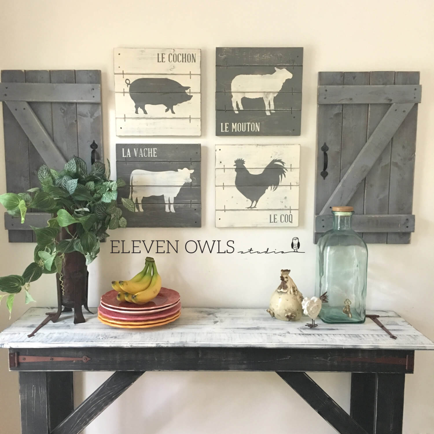 45+ Best Farmhouse Wall Decor Ideas And Designs For 2019