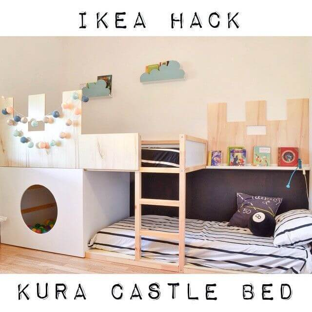 Castle Bunk-Bed & Ball-Pit Ensemble