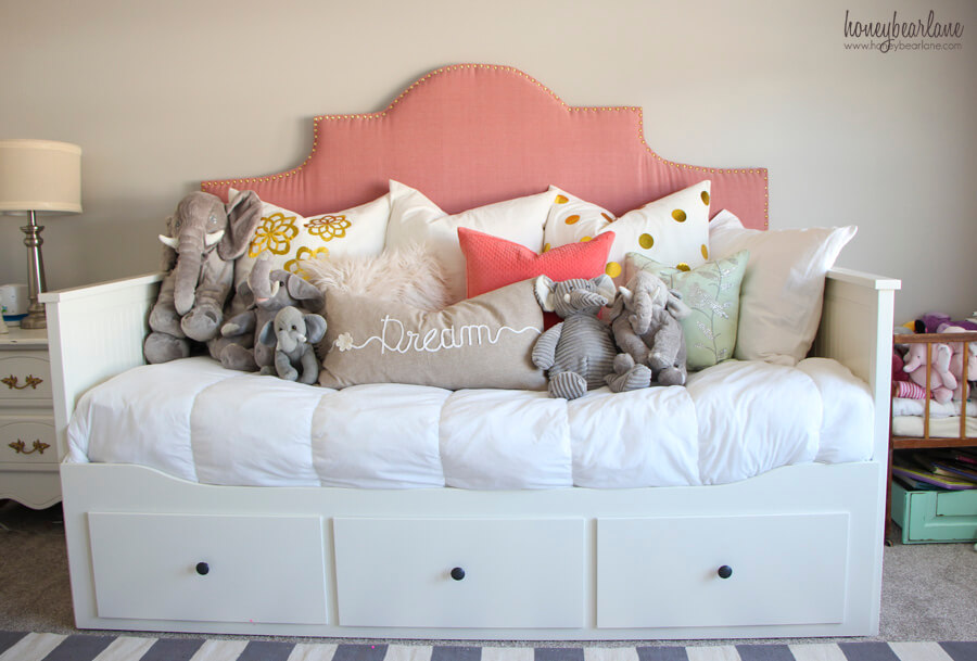 Convertible Bed-Sofa With Cute Drawers