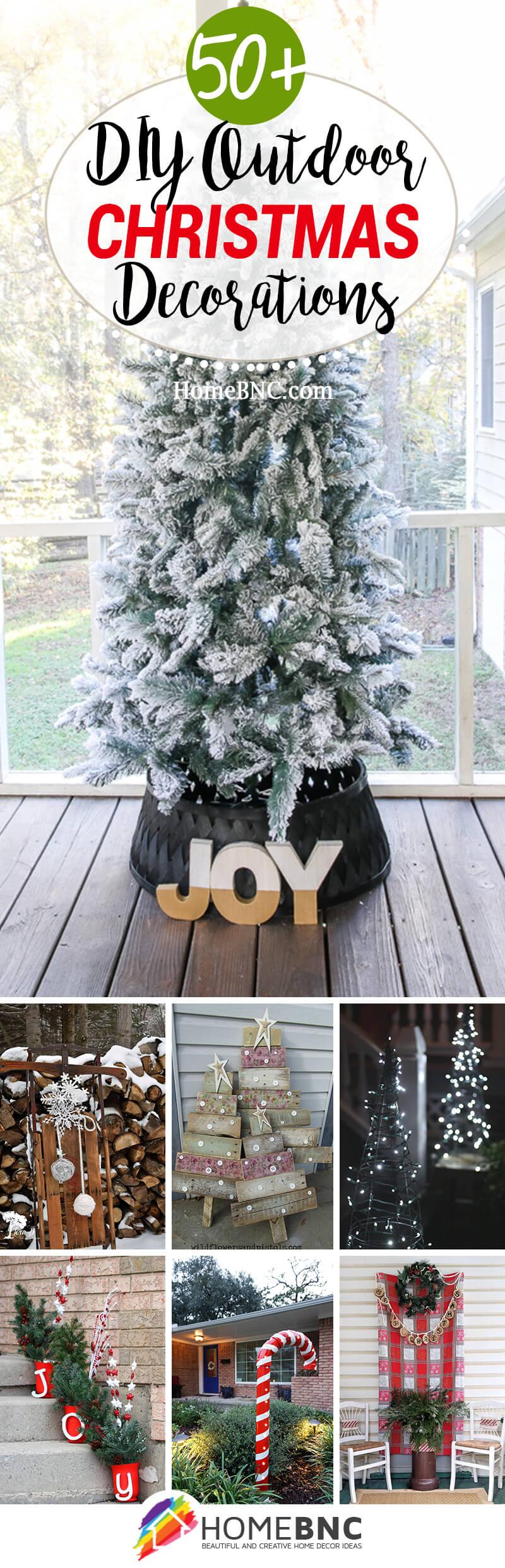 Christmas DIY Outdoor Decor Ideas
