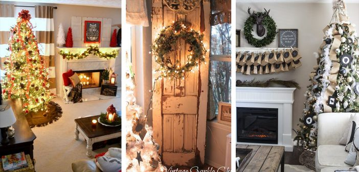 christmas living room.  32 Best Christmas Living Room Decor Ideas and Designs for 2018