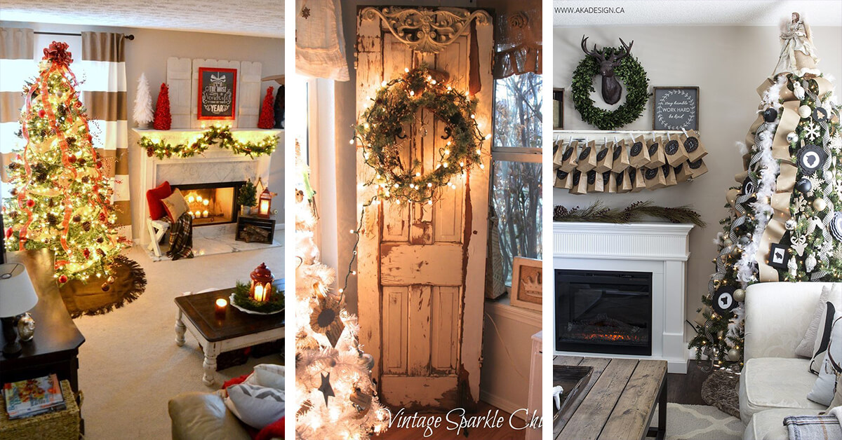 Beautiful 32 Gorgeous Ways To Decorate Your Living Room For Christmas