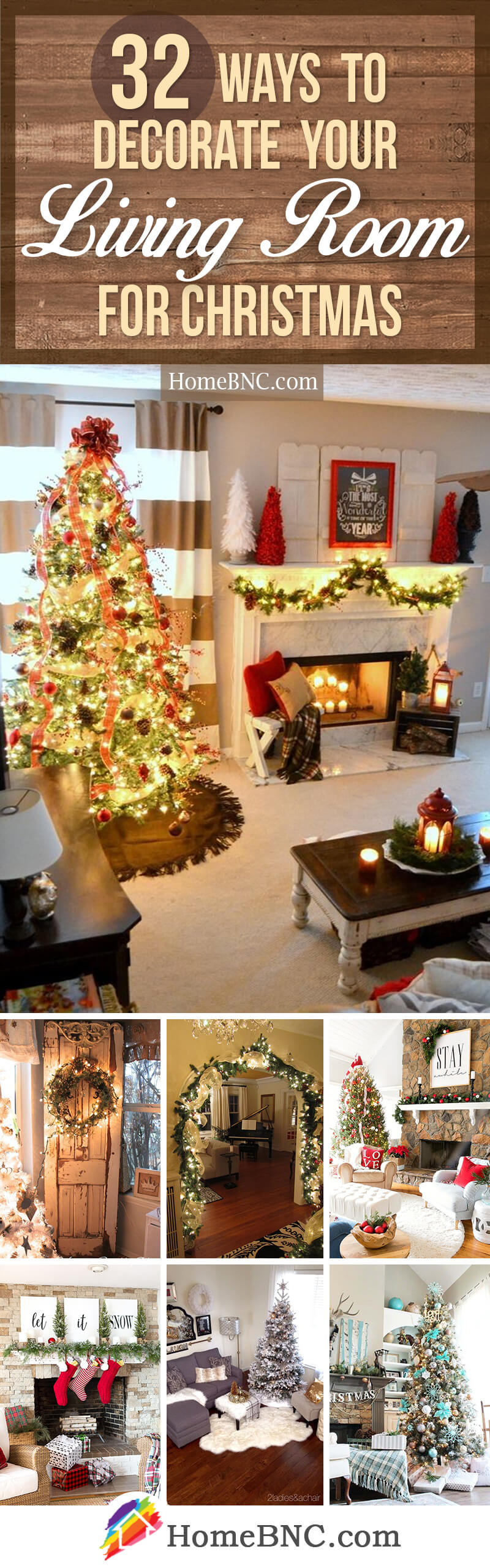 32 festive christmas living room decor ideas to celebrate the holidays with style - Christmas Room Decoration Ideas