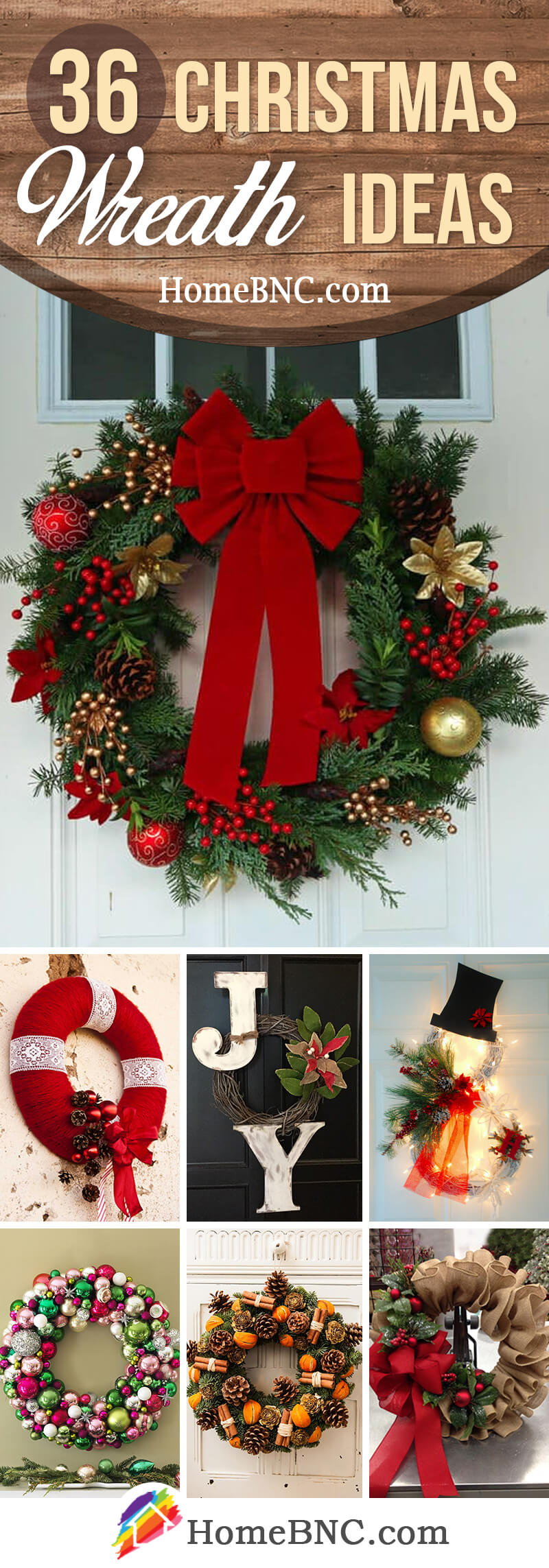 36 Best Christmas Wreath Ideas And Designs For 2017