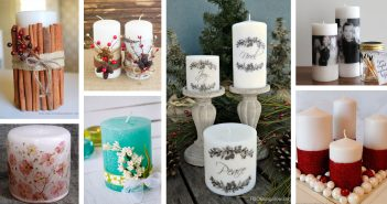 Decorated Candle Designs
