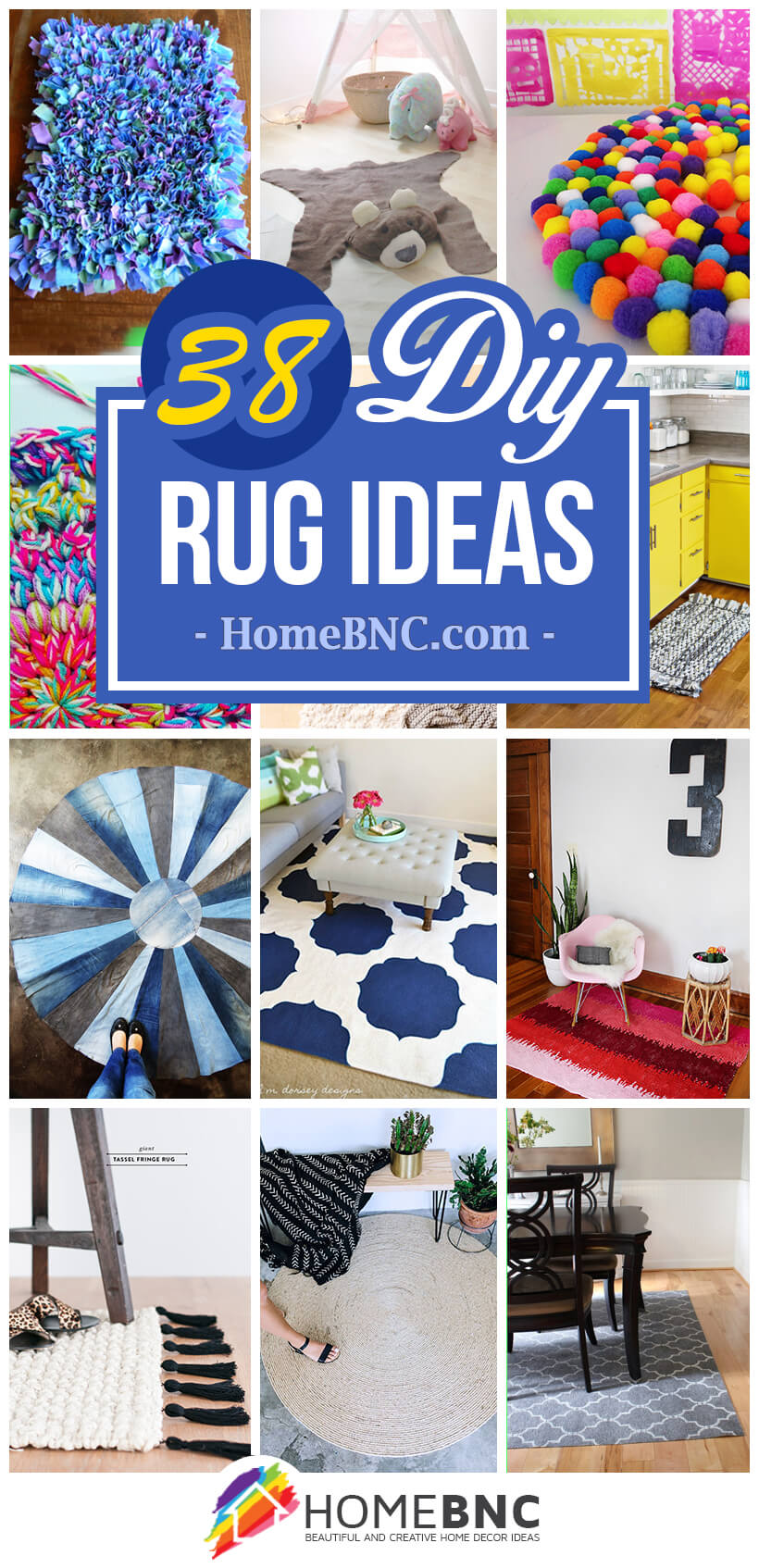 38 cheap ways to spice up your interior with diy rug ideas