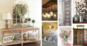 50+ Stunning Farmhouse Furniture And Decor Ideas To Turn Your Home Into A  Rustic Getaway Spot