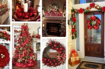 Red Decor Ideas for Christmas
