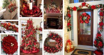 Red Decor Ideas for Christmas
