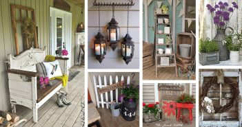 40+ Rustic Vintage Porch Decor Ideas To Bring Warmth To Your Homeu0027s Exterior