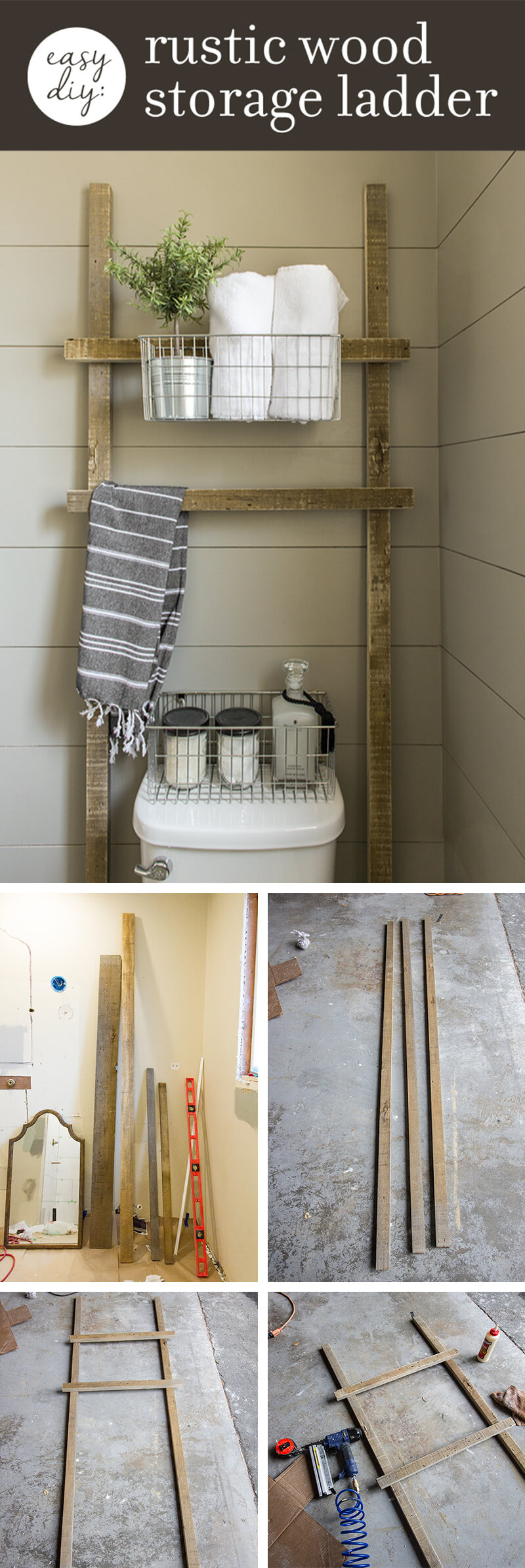 Decorative Rustic Storage Projects For Your Bathroom: 26 Best DIY Bathroom Ideas And Designs For 2018
