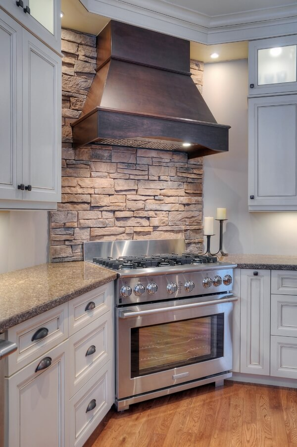 Small Wall Big Impact in Kitchen Design