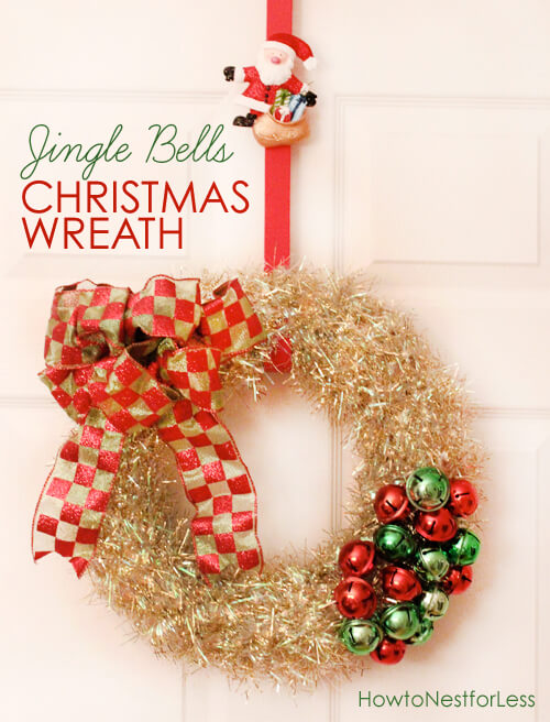 Blingy and Ringy Jingle Bell Wreath