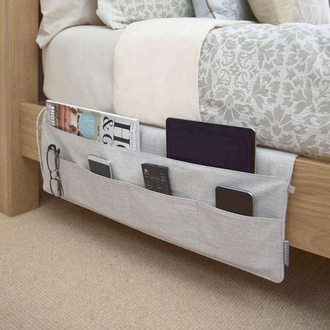 3. Bed Side Multi Pocket Holder For Accessories