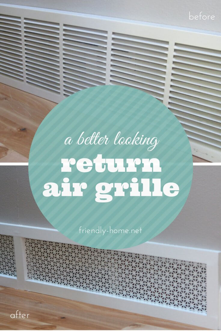 Pretty Patterned Return Air Grille Concept