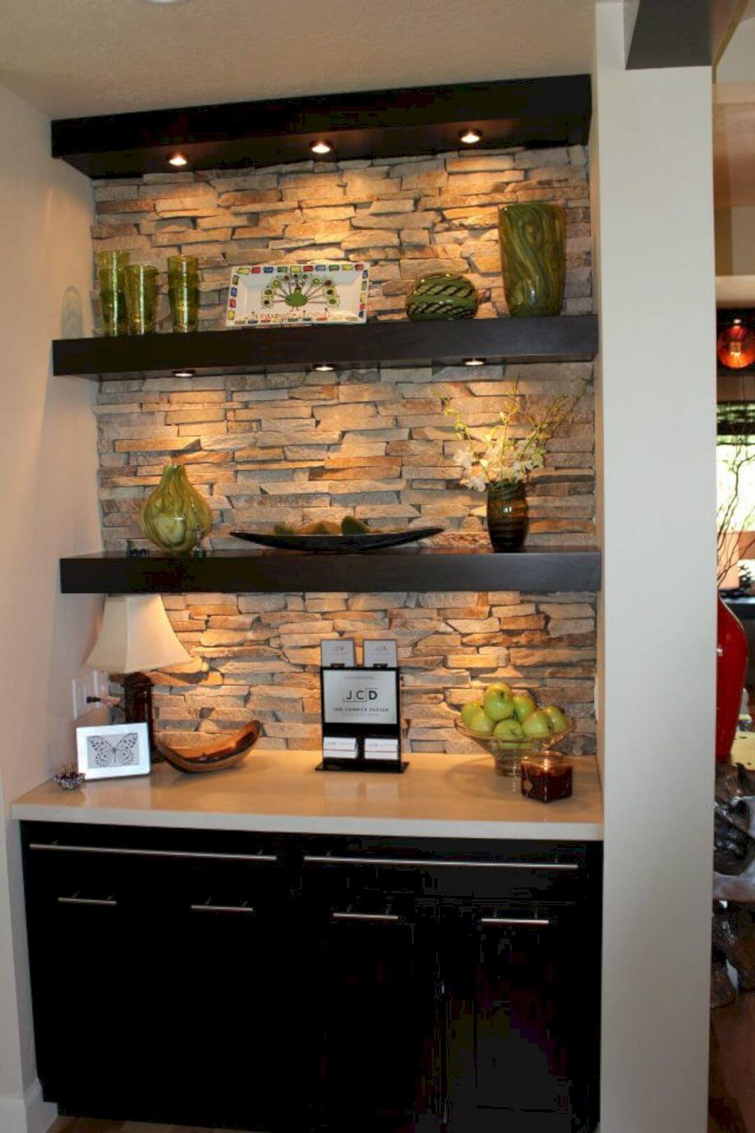 Interior Stone Wall Ideas for Nooks