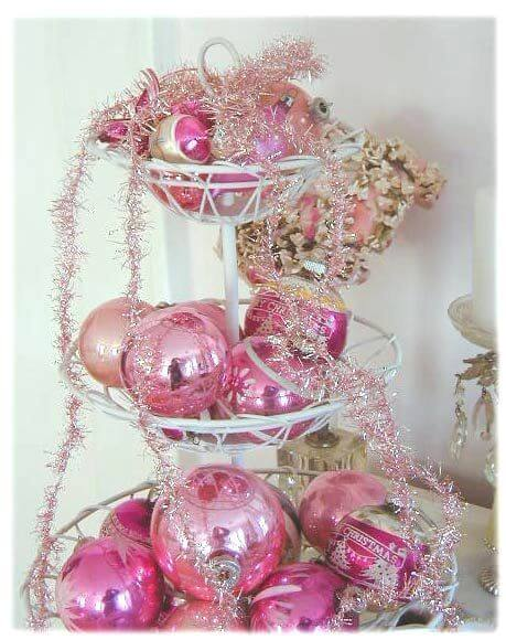 Three Tiers for Pink Tinsel