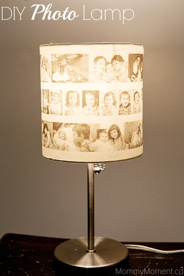 Black and White Memories Lampshade