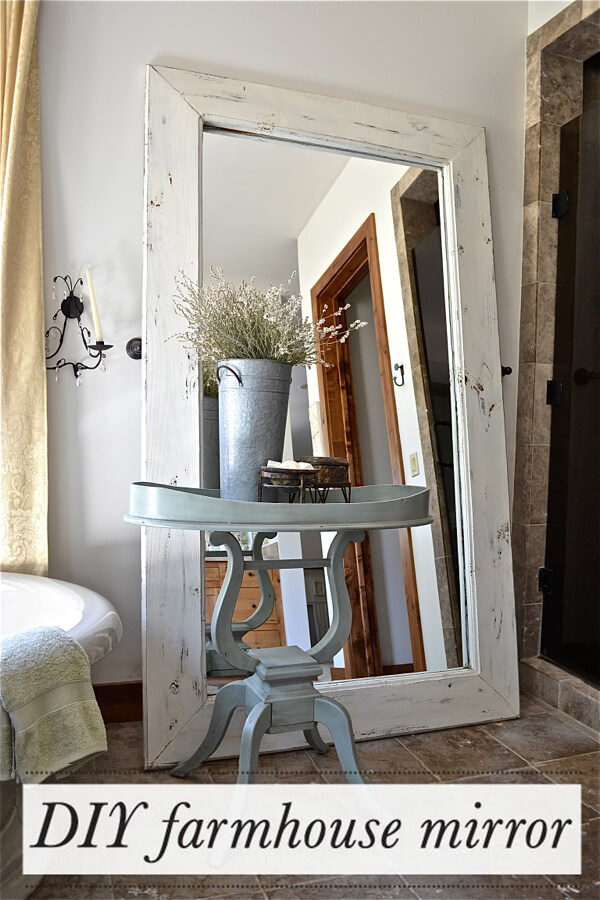 Full Length Farmhouse Floor Mirror