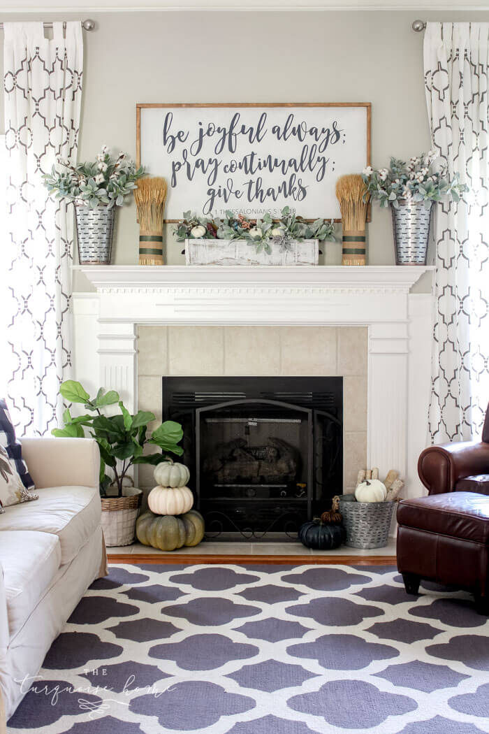 28 Best Farmhouse Mantel Decor Ideas and Designs for 2020