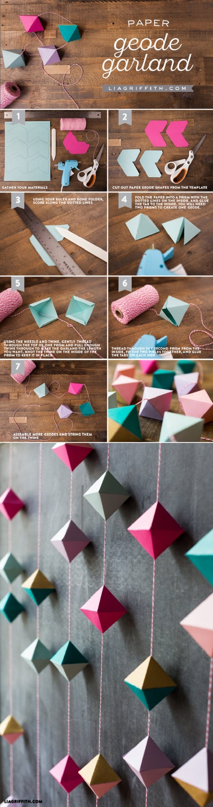 16 Best Paper Decor Crafts (Ideas and Designs) for 16