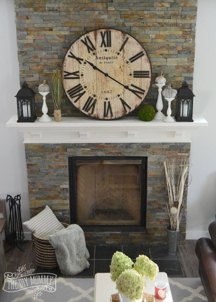 Cool 28 Best Farmhouse Mantel Decor Ideas And Designs For 2019 Home Interior And Landscaping Dextoversignezvosmurscom