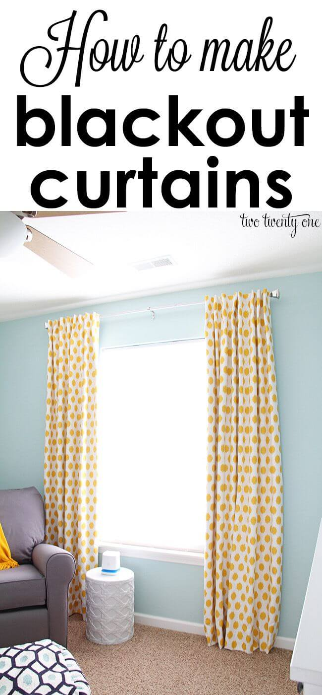 Bright and Graphic Blackout Curtains