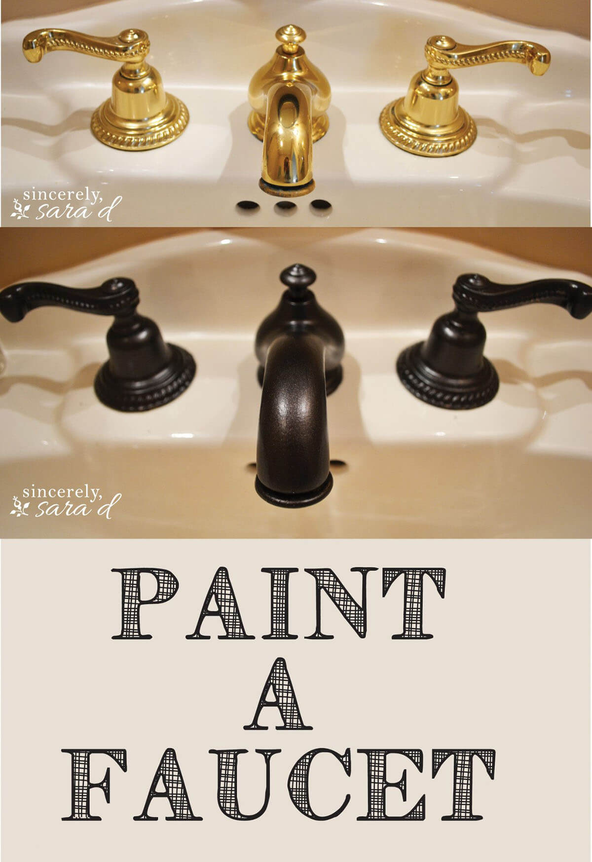 From Dated Brass to Modern Black Faucets