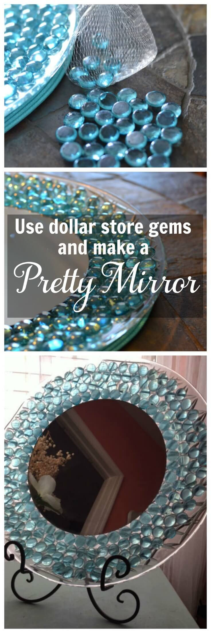 Get a Bottle Glass Mirror for Less