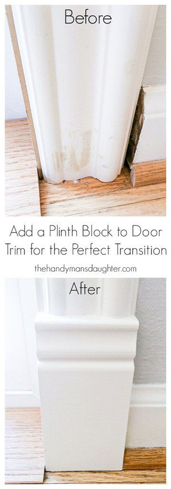 Add Dimension to Doorways with Plinth Blocks