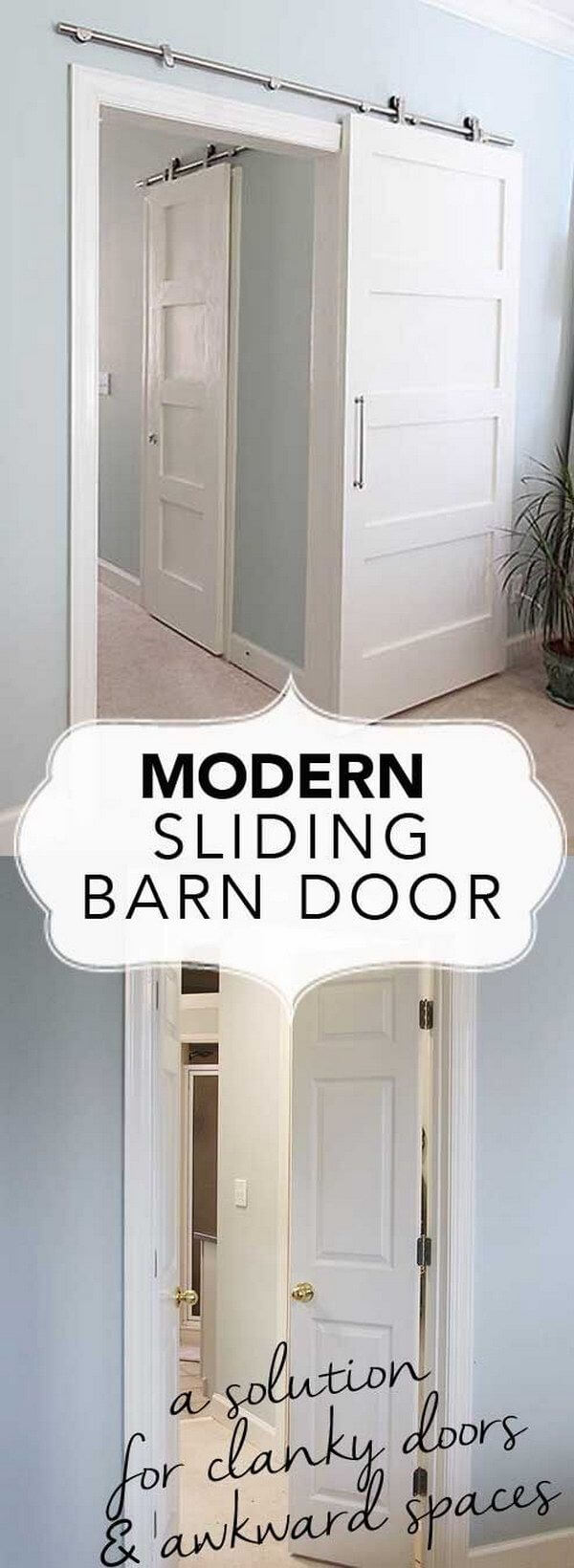 Get the Barn Door Look for Less