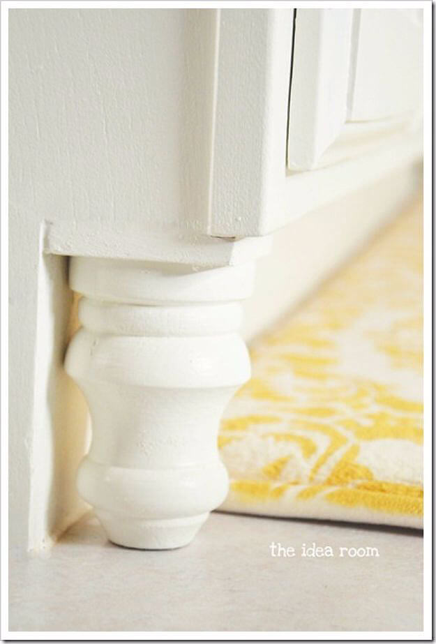Go Full Farmhouse with Cabinet Baluster Accents