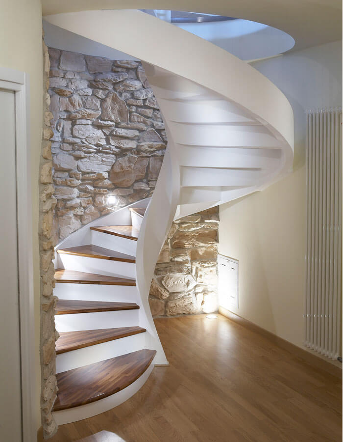 Create Major Drama with a Spiral Staircase