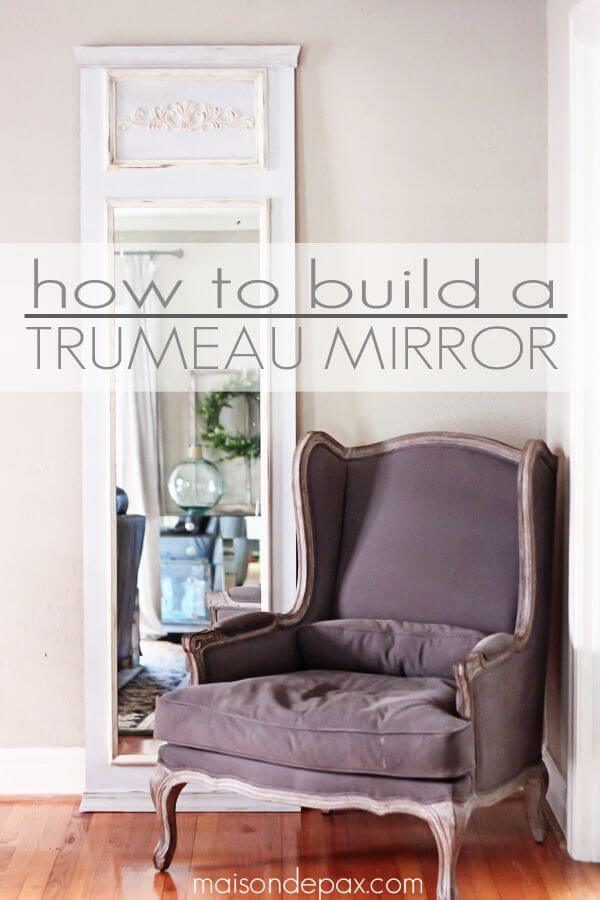Make Your Own Floor-to-Ceiling Wall Mirror